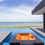 2 ห้องนอน สระว่ายน้ำส่วนตัว ติดหาด